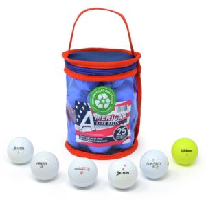 Recycled Lake Golf Balls - Pack of 25