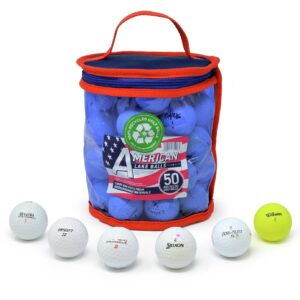 Recycled Lake Golf Balls - Pack of 50