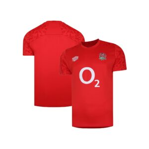England Rugby Gym Training Jersey - Scarlet - Mens