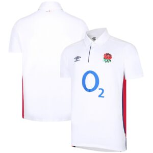 England Rugby Home Classic Jersey 2021/22 - White - Junior